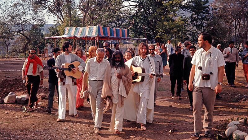 Maharishi & The Beatles credit Colin Harrison - Avico